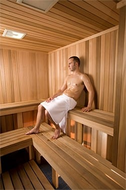 Spa and Sauna at Manhattan Plaza Health Club
